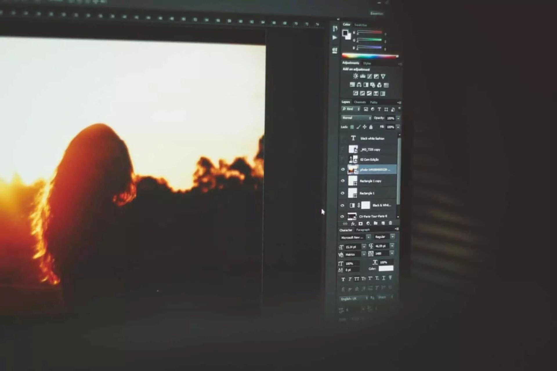 software edit foto terbaik di linux
