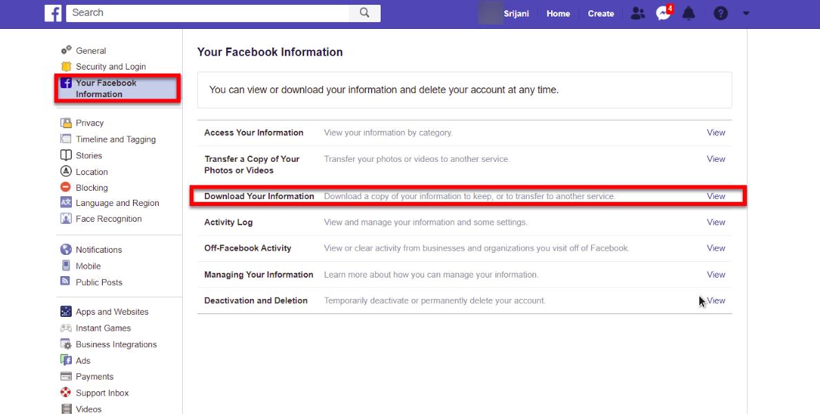 cara mudah mengembalikan pesan facebook yang terhapus