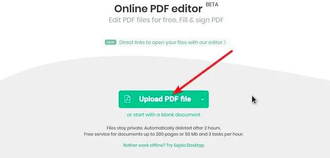 cara edit file pdf dengan editor pdf online