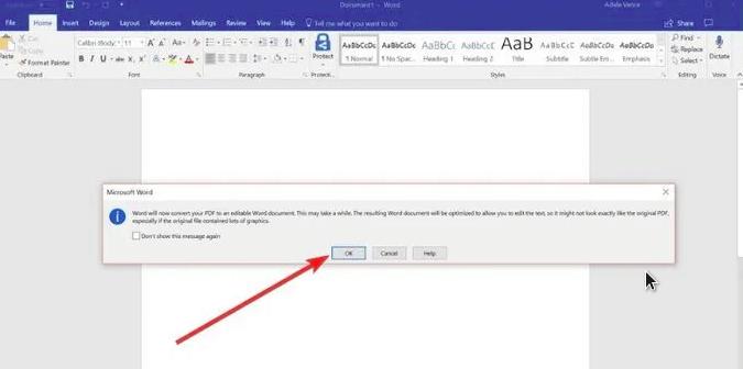 cara edit file dengan word