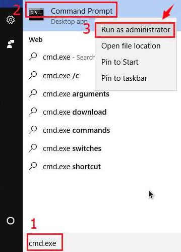 cara membuka cmd windows 10