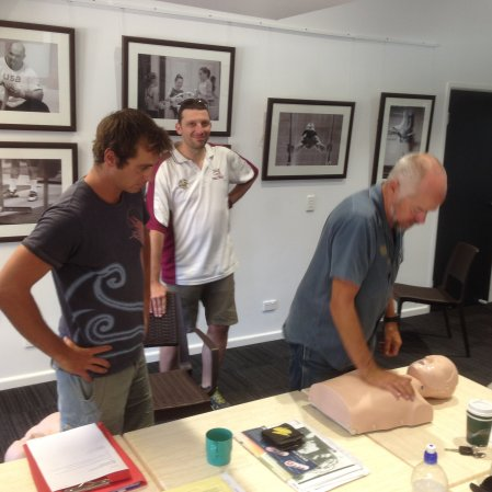 CPR First Aid Course. First Aid and Radio Operators Course