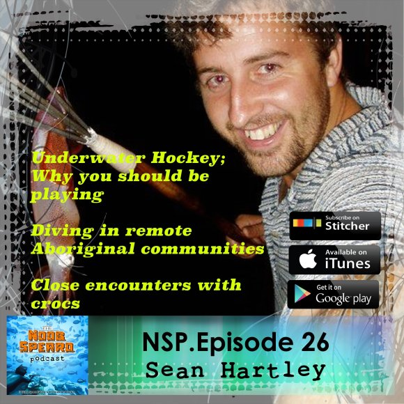 Sean Hartley underwater hockey and spearfishing