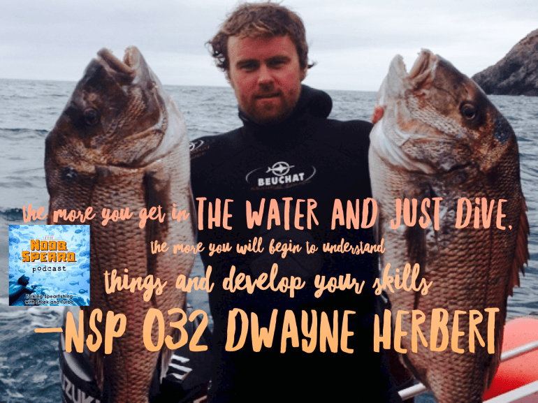 Dwayne Herbert New Zealand Spearfishing Champion