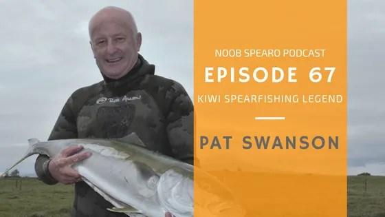NSP:067 Pat Swanson Veteran Kiwi Spearo