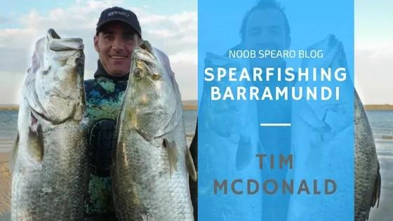 Spearfishing Barramundi with Tim McDonald