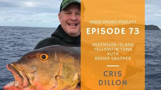NSP:073 Cris Dillon spearfishing hunting techniques