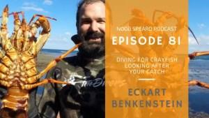 Eckart Berkenstein how to hunt crayfish. Catching Crayfish