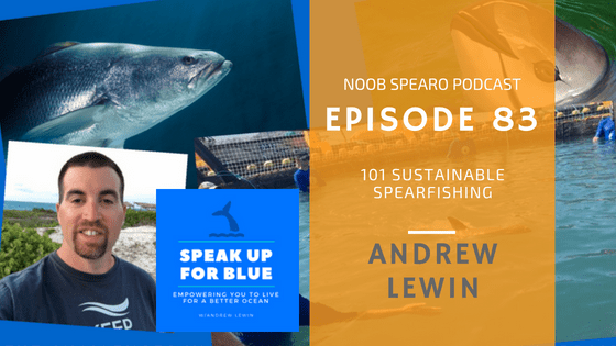 Sustainable Spearfishing with Andrew Lewin