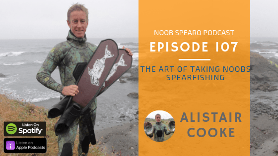 NSP:107 Alistair Cooke | The Art of Taking Noobs Spearfishing