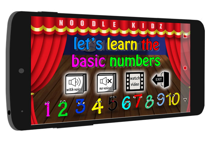 Learn Basic Numbers For Kids eBook / Audiobook App