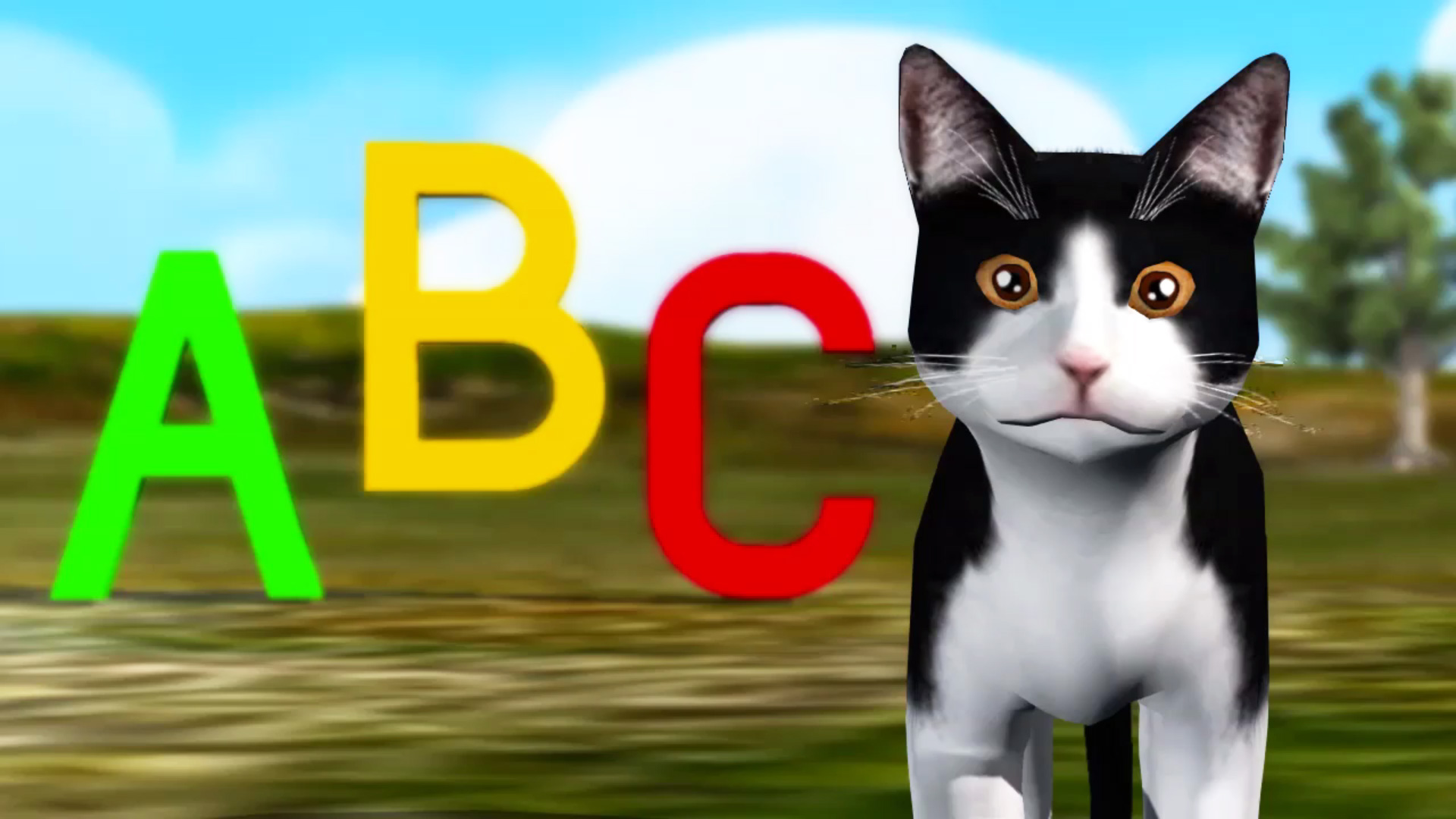 ABC song with Tommy the Cat