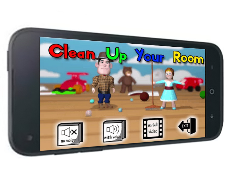 Clean Up Your Room eBook App