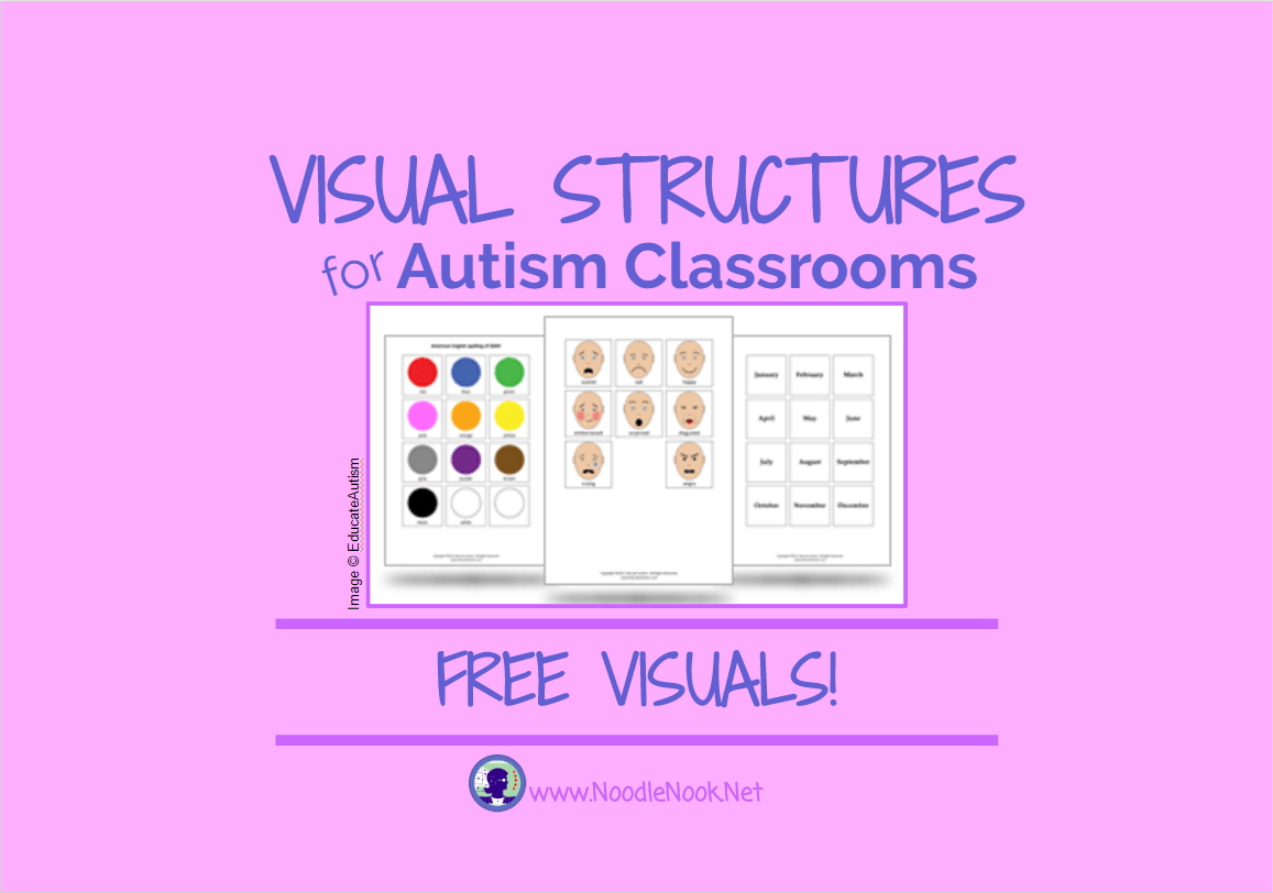 Visual Structure For Autism Classrooms