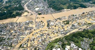 蔡英文為日本水災致意祈福 安倍:患難見真情