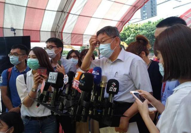 對於陳菊要讓監院讓人民更有感,提出公開透明及結合社群媒體操作,台北市長柯文哲則酸,「那就是說,他們要買更多的小編。」記者林麗玉/攝影