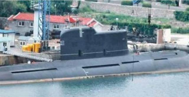 據稱這次試射巨浪3飛彈的,是解放軍032型潛艦。(網路)