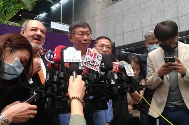 萊豬大戰持續,台北市長柯文哲嗆蘇貞昌極傲慢、惡霸。記者林麗玉/攝影