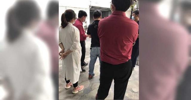 屏東縣消防局昨(2日)二度前往信功進行消防安檢。(圖/讀者提供)