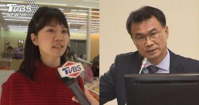 高嘉瑜為「台灣豬標章、貼紙」槓上陳吉仲。(圖/TVBS)