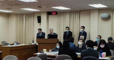 外交部次長田中光(左2)。記者徐偉真/攝影