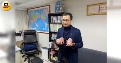 台北市議員羅智強表示,總統蔡英文解決萊豬政策的方式是軟骨無能。(圖/記者陳大智攝)