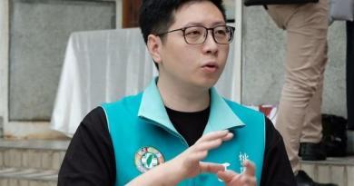 桃園市議員王浩宇(圖)罷免案16日投票,罷免門檻為8萬1940票。(中央社檔案照片)