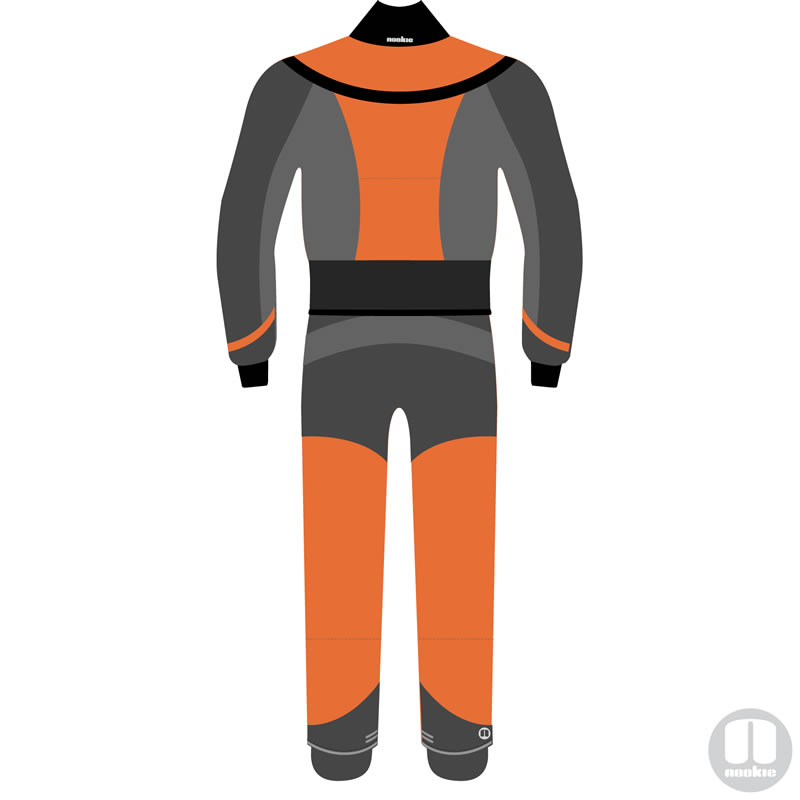 Nookie Octane Womens Drysuit - Back
