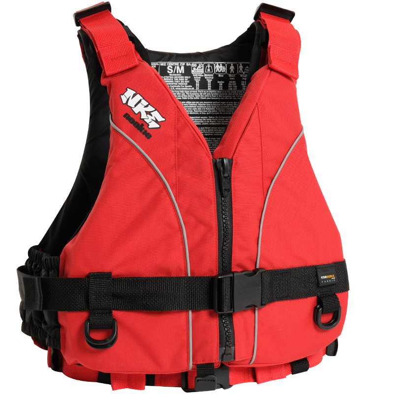 Nookie NKE S/M Buoyancy Aid Front - Red with Red Webbing