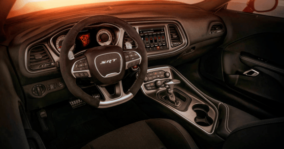 2018 Dodge Charger Interior