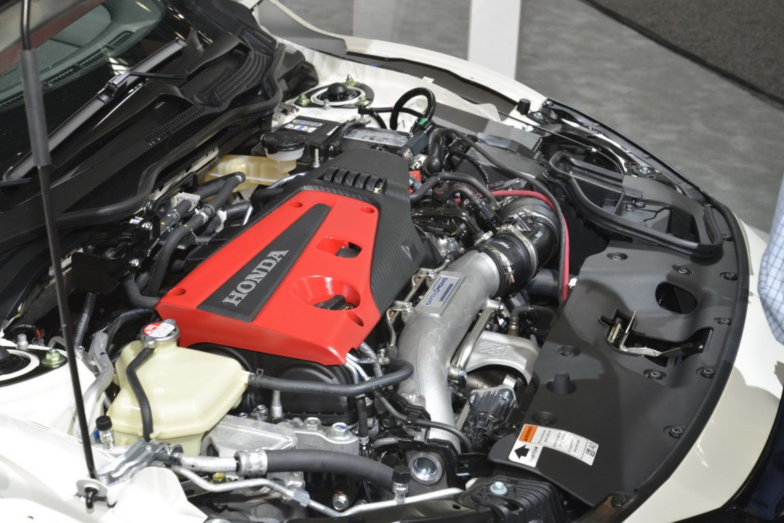 2018 Honda Civic Type-R engine