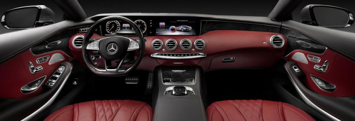 2018 Mercedes-Benz S-Class Coupe interior