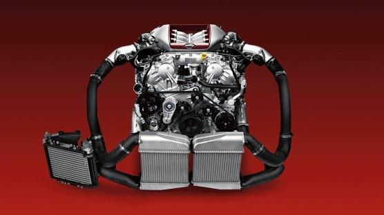2018 Nissan GT-R Nismo engine 2