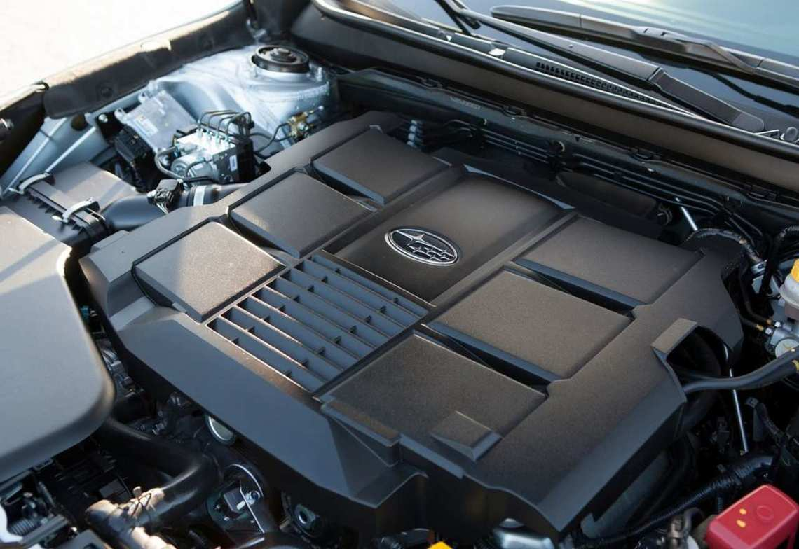 2018 Subaru Legacy engine