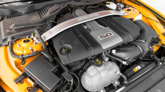 2018 Ford Mustang GT Engine