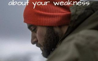 Brag About Your Weakness
