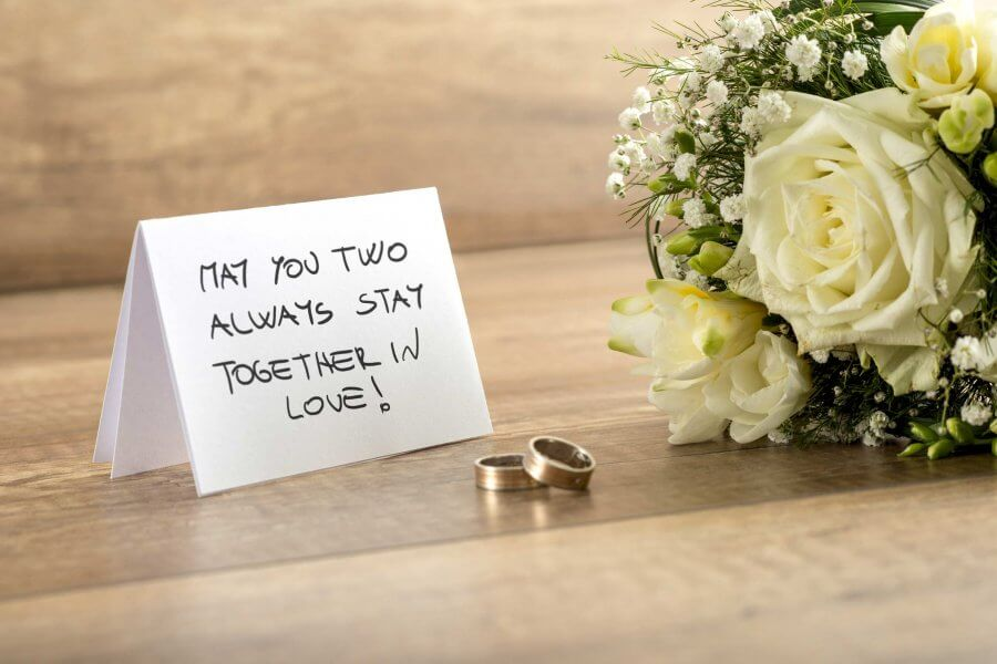 20 Positive Wedding Wishes Quotes You Can Use No Ordinary Homestead