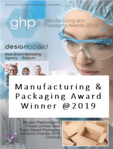 GHP (HK) Manufacturing & Packaging Award