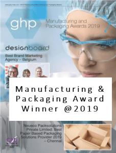GHP (HK) Manufacturing & Packaging Award