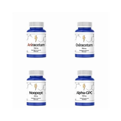 Beginner-Nootropics-Sample-Pack-Aniracetam-Noopept-Alpha-GPC-Oxiracetam-Nootropics-UAE