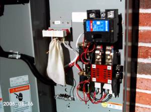 RLC1200 Eaton CutlerHammer 200A Automatic Transfer Switch  with optional service disconnect