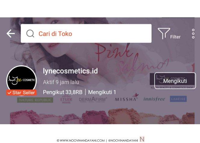 Belanja Produk Korea di Lyne Cosmetics c
