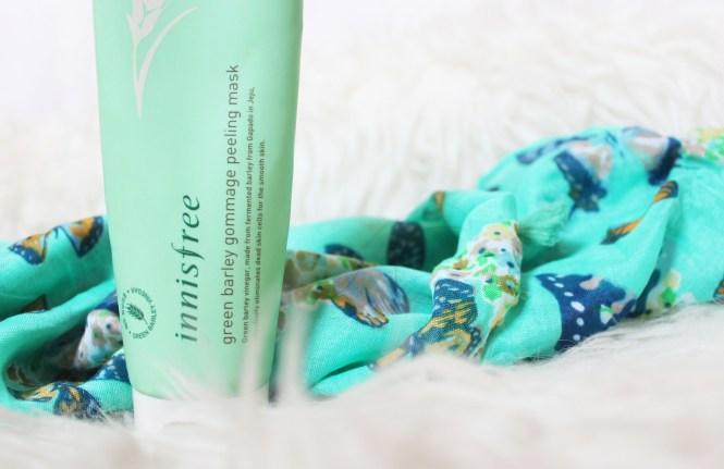 Innisfree Peeling Mask Green Barley Gommage