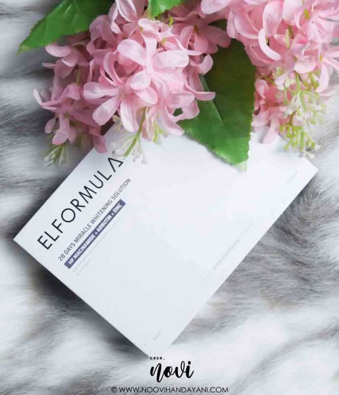 Elformula 28 Days Miracle Whitening Solution Serum