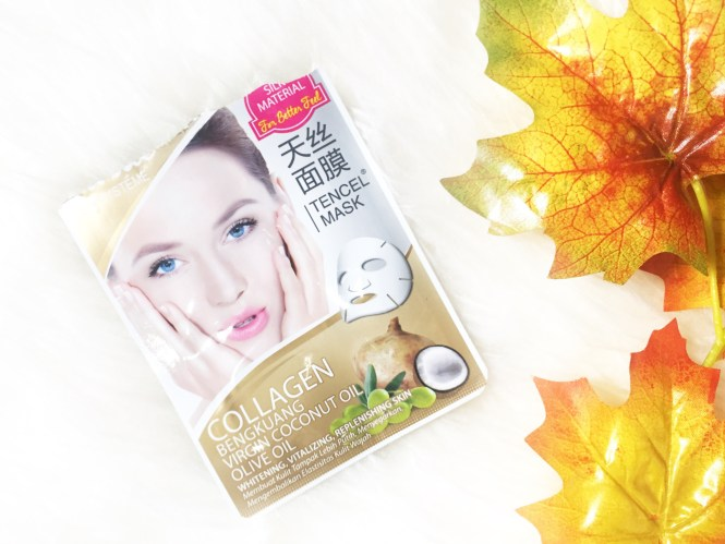 BEAUTY REVIEW: Masker Vivelle Collagen Bengkuang