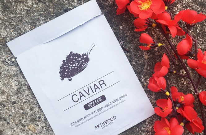 Masker Skin Food Caviar