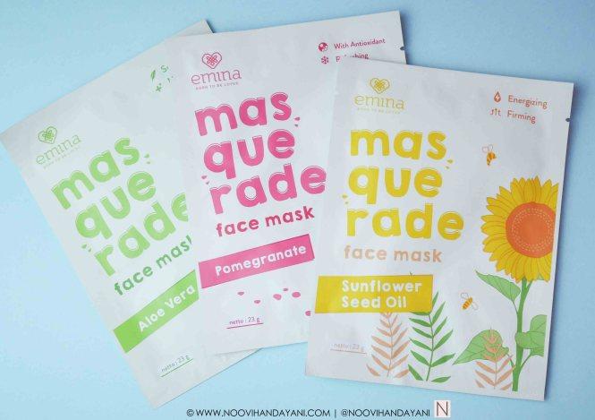 Beberapa bulan lalu, aku sempat sharing review salah satu produk Facial Wash dari brand Emina, yaitu Emina Bright Stuff Facial Wash. Nah, kali ini aku akan lanjut menceritakan pengalamanku menggunakan produk Emina lainnya, yaitu Masker Emina Masquarade!