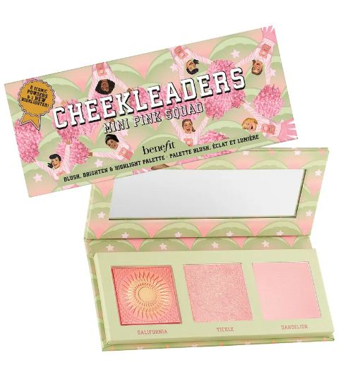 BENEFIT CHEEKLEADERS PINK SQUAD MINI CHEEK PALETTE