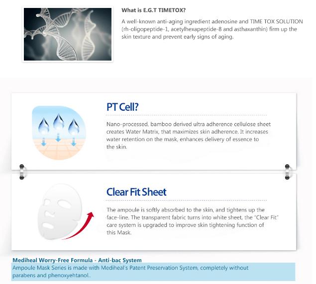 Masker Mediheal EGT Timetox