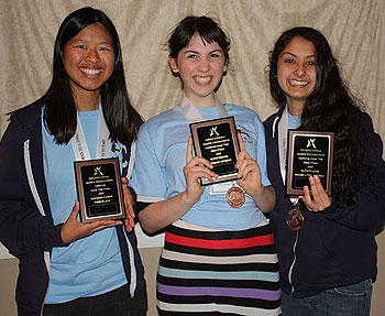 Dos Pueblos juniors Juhi Khemani and Connie Phung and sophomore Emma Steinkellner had award-winning individual performances at the competition.
